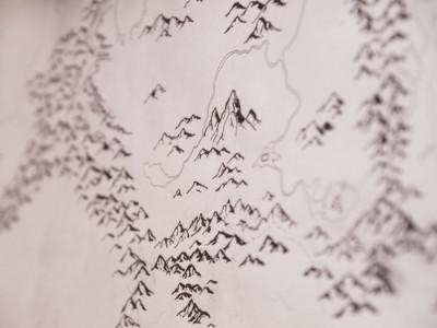 Skyrim Map Mountains